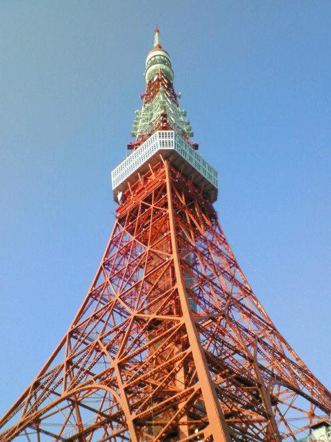 東京タワー・昼