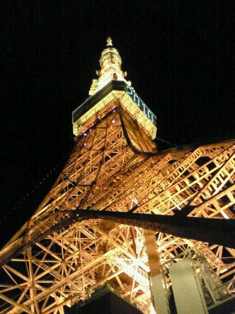 東京タワー・夜